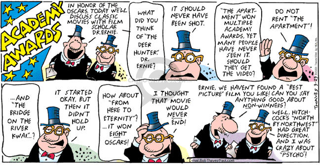 Comic Strip Bob Thaves Tom Thaves  Frank and Ernest 2003-03-23 movie