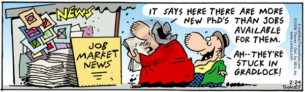 Comic Strip Bob Thaves Tom Thaves  Frank and Ernest 2006-02-24 newsstand