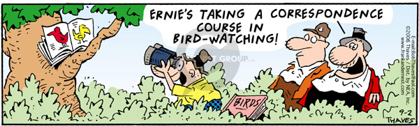Comic Strip Bob Thaves Tom Thaves  Frank and Ernest 2006-09-02 education