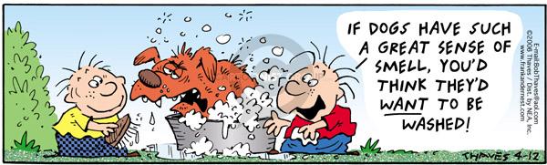 Comic Strip Bob Thaves Tom Thaves  Frank and Ernest 2006-04-12 hygiene