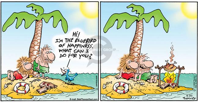 Comic Strip Bob Thaves Tom Thaves  Frank and Ernest 2006-04-30 desert