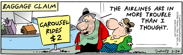 Comic Strip Bob Thaves Tom Thaves  Frank and Ernest 2006-05-24 finance
