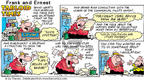 Cartoonist Bob Thaves Tom Thaves  Frank and Ernest 2002-01-06 make