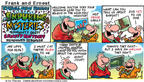 Cartoonist Bob Thaves Tom Thaves  Frank and Ernest 2002-02-03 lead to