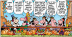 Cartoonist Bob Thaves Tom Thaves  Frank and Ernest 2003-11-23 bunch