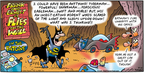 Cartoonist Bob Thaves Tom Thaves  Frank and Ernest 2004-09-12 bat