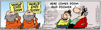 Cartoonist Bob Thaves Tom Thaves  Frank and Ernest 2004-09-25 carry