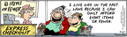 Cartoonist Bob Thaves Tom Thaves  Frank and Ernest 2004-09-27 outs