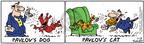 Cartoonist Bob Thaves Tom Thaves  Frank and Ernest 2005-01-15 Pavlov's cat