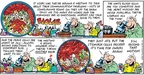 Cartoonist Bob Thaves Tom Thaves  Frank and Ernest 2005-01-16 nervous