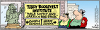 Cartoonist Bob Thaves Tom Thaves  Frank and Ernest 2005-03-03 carry