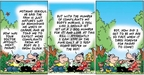Cartoonist Bob Thaves Tom Thaves  Frank and Ernest 2005-04-17 age pain