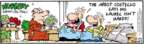 Cartoonist Bob Thaves Tom Thaves  Frank and Ernest 2008-12-24 gardening