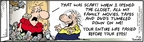Cartoonist Bob Thaves Tom Thaves  Frank and Ernest 2009-07-15 tumble