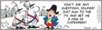 Comic Strip Bob Thaves Tom Thaves  Frank and Ernest 2009-10-03 military