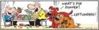 Cartoonist Bob Thaves Tom Thaves  Frank and Ernest 2009-11-05 dog food