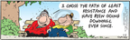 Cartoonist Bob Thaves Tom Thaves  Frank and Ernest 2010-01-11 option