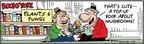Cartoonist Bob Thaves Tom Thaves  Frank and Ernest 2010-01-29 3-D