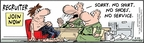 Comic Strip Bob Thaves Tom Thaves  Frank and Ernest 2010-02-22 soldier