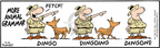 Cartoonist Bob Thaves Tom Thaves  Frank and Ernest 2010-04-12 animal grammar