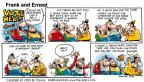 Cartoonist Bob Thaves Tom Thaves  Frank and Ernest 2000-03-12 language