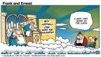 Cartoonist Bob Thaves Tom Thaves  Frank and Ernest 2000-05-14 eternal