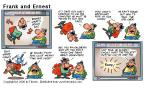 Cartoonist Bob Thaves Tom Thaves  Frank and Ernest 2000-06-25 language