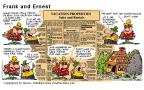 Cartoonist Bob Thaves Tom Thaves  Frank and Ernest 2000-07-30 wildlife