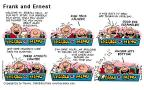 Cartoonist Bob Thaves Tom Thaves  Frank and Ernest 2000-08-06 TV movie