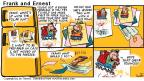 Comic Strip Bob Thaves Tom Thaves  Frank and Ernest 2000-10-01 freezer
