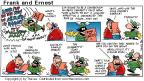 Cartoonist Bob Thaves Tom Thaves  Frank and Ernest 2000-10-29 language