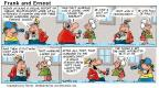 Cartoonist Bob Thaves Tom Thaves  Frank and Ernest 2001-01-21 make