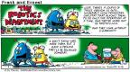 Cartoonist Bob Thaves Tom Thaves  Frank and Ernest 2001-04-15 organic