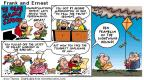 Cartoonist Bob Thaves Tom Thaves  Frank and Ernest 2001-07-01 contestant