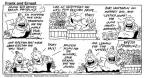 Cartoonist Bob Thaves Tom Thaves  Frank and Ernest 1992-03-08 vegetable