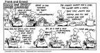 Cartoonist Bob Thaves Tom Thaves  Frank and Ernest 1993-08-22 jockey