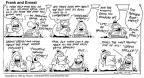 Cartoonist Bob Thaves Tom Thaves  Frank and Ernest 1993-10-17 good