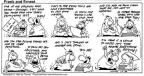 Cartoonist Bob Thaves Tom Thaves  Frank and Ernest 1994-01-02 cleanup