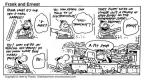 Cartoonist Bob Thaves Tom Thaves  Frank and Ernest 1994-03-27 technology