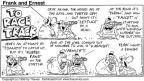 Comic Strip Bob Thaves Tom Thaves  Frank and Ernest 1996-01-28 show horse