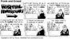 Cartoonist Bob Thaves Tom Thaves  Frank and Ernest 1997-04-13 000
