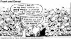 Cartoonist Bob Thaves Tom Thaves  Frank and Ernest 1997-06-22 clone