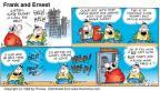 Cartoonist Bob Thaves Tom Thaves  Frank and Ernest 1998-03-29 good listener