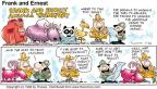 Cartoonist Bob Thaves Tom Thaves  Frank and Ernest 1998-07-26 yak