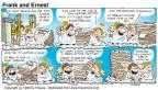 Cartoonist Bob Thaves Tom Thaves  Frank and Ernest 1999-04-04 for sale