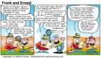 Cartoonist Bob Thaves Tom Thaves  Frank and Ernest 1999-05-16 soda