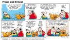 Cartoonist Bob Thaves Tom Thaves  Frank and Ernest 1999-05-23 animal food