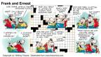 Cartoonist Bob Thaves Tom Thaves  Frank and Ernest 1999-08-15 Mardi Gras