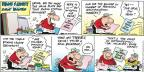 Cartoonist Bob Thaves Tom Thaves  Frank and Ernest 2012-08-19 league