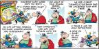 Cartoonist Bob Thaves Tom Thaves  Frank and Ernest 2012-11-25 doubt